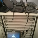 School Laptop Trolly Installation and Setup Rotherham Southyorkshire_AJR Computing