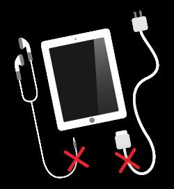 ipad-broken-audio-or-connection-socket - charging socket-rotherham-south yorkshire-uk