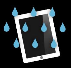 iPad water damage, rotherham, south yorkshire, uk