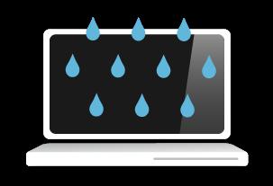 Laptop Water Damage Repair, Rotherham, South Yorkshire, UK