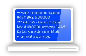 Laptop Blue Screen problems, software-prolems Rotherham, South Yorkshire, Uk