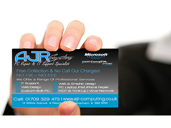 Computer Repair And IT Support Services In Rotherham, South Yorkshire