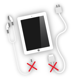 ipad-broken-audio-or-connection-socket - charging socket-rotherham-south yorkshire-uk