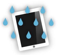 iPad water damage, rotherham, south yorkshire, uk