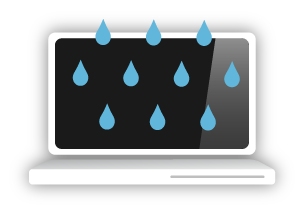 Laptop Water Damage Repair, Rotherham, South Yorkshire, UK