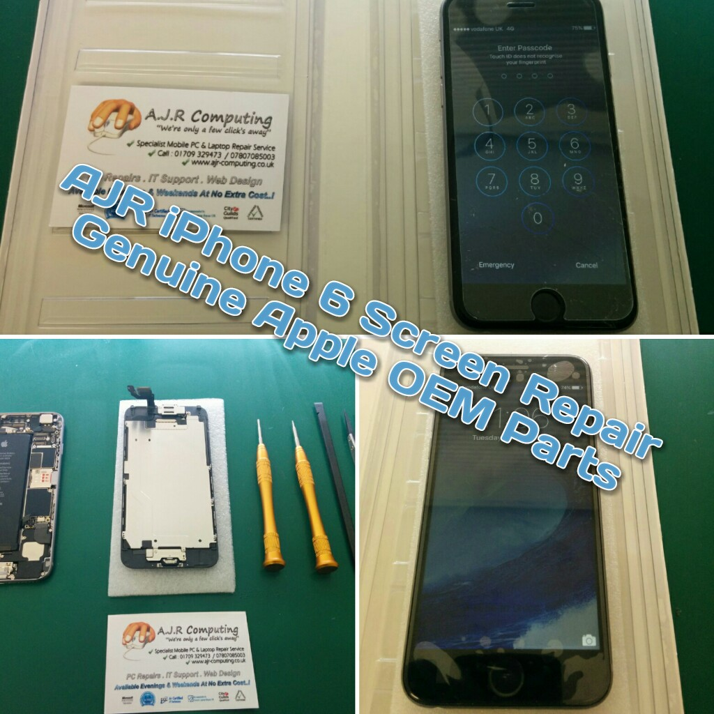 iPhone Repair Rotherham, Sheffield, Doncaster, Barnsley